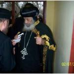 Visit to H.H. Pope Shenouda III, Columbus, OH