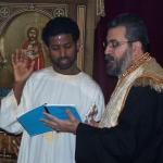 Amanuel's  Baptism