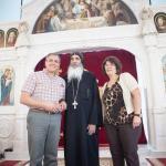H.G. Bishop Basillios Visit 2015