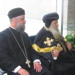 Visit to Pope Shenouda in Cleveland, OH